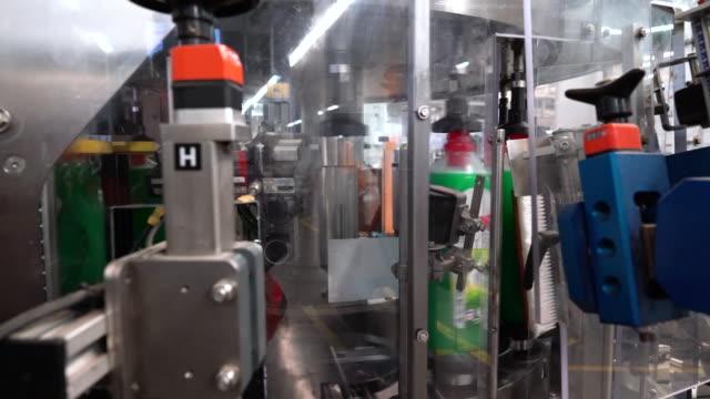 henkel detergent production line in düsseldorf, north rhine-westphalia, germany on thursday, february 6, 2020. - laundry detergent stock videos & royalty-free footage
