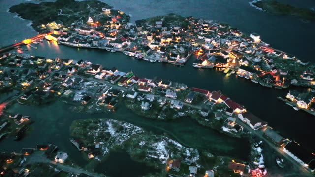 henningsvaer - nordland county stock videos & royalty-free footage