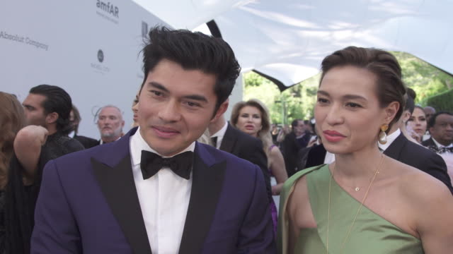 INTERVIEW Henry Golding and Liv Lo Golding on all the good that comes from the amfAR event at the amfAR Cannes Gala 2019 Arrivals at Hotel du...