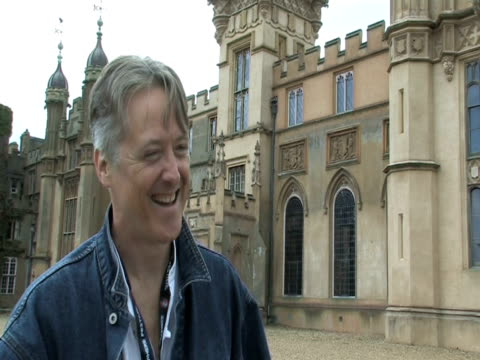 henry lytton-cobbold, knebworth house owner, on having heavy metal crowds at knebworth at the sonisphere day two at stevenage england. - お祭り好き点の映像素材/bロール