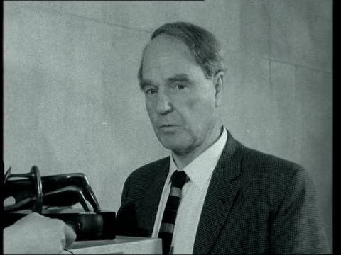 henry moore interview; england: london: tate gallery: int henry moore - henry moore stock videos & royalty-free footage