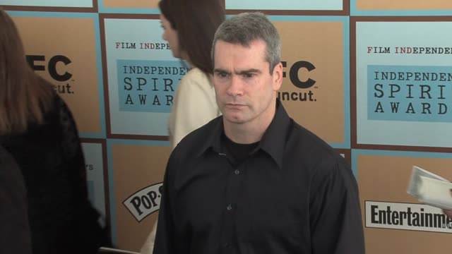 henry rollins at the the 21st annual ifp independent spirit awards in santa monica california on march 4 2006 - ifp independent spirit awards stock videos and b-roll footage