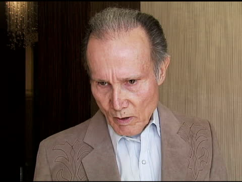 Henry Silva Actor on Clint Eastwood and what makes a cowboy at the Motion Picture and Television Fund's 24th Golden Boot Awards at the Beverly Hilton...