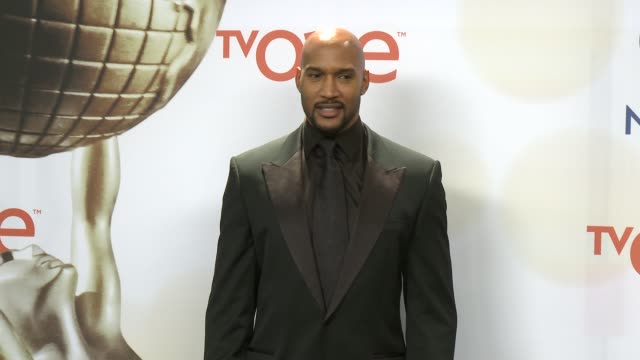 stockvideo's en b-roll-footage met henry simmons at the 46th annual naacp image awards press room at pasadena civic auditorium on february 06 2015 in pasadena california - pasadena civic auditorium