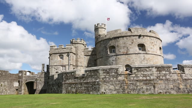 Henry VIII's Fort at Pendennis Castle, a fortress