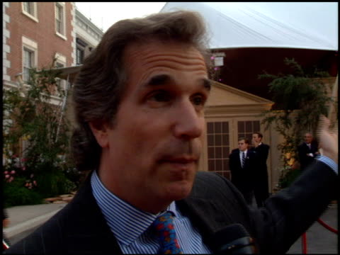 Henry Winkler at the 'Bridges of Madison County' Premiere at Warner Brothers Lot in Burbank California on May 30 1995