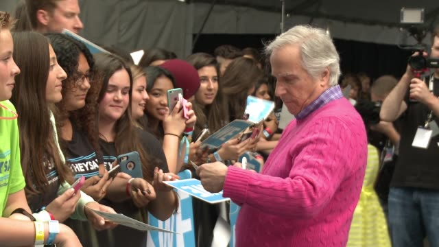 henry winkler at we day california at the forum on april 07 2016 in inglewood california - inglewood stock videos and b-roll footage