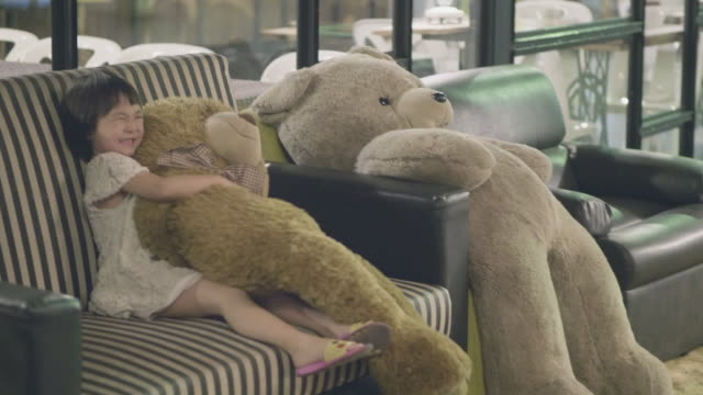 her best friends - teddy bear stock videos and b-roll footage