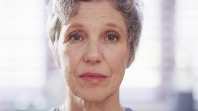 her eyes tells a beautiful story - senior women stock videos & royalty-free footage
