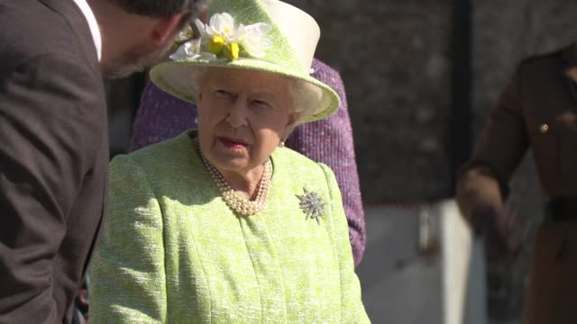 her majesty the queen on march 28, 2019 in somerset, united kingdom. - majestic stock videos & royalty-free footage