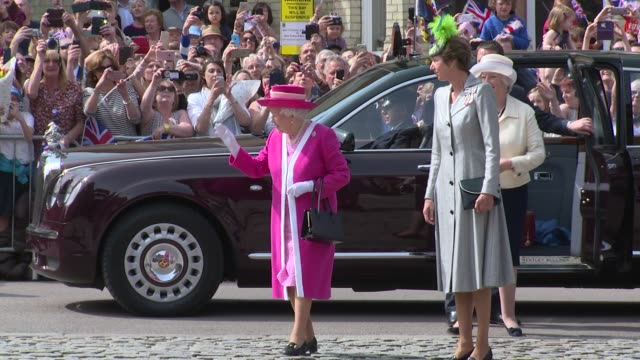 her majesty the queen on may 06, 2016 in london, england. - majestic stock videos & royalty-free footage