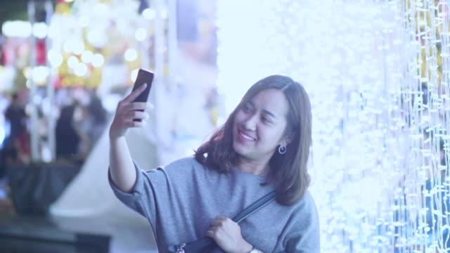 Her phone and Christmas