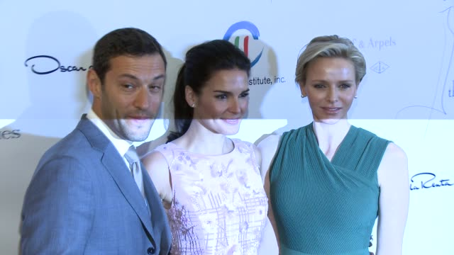 her serene highness, princess charlene of monaco and angie harmon - the colleagues 26th annual spring luncheon to honor her serene highness, princess... - angie harmon stock videos & royalty-free footage