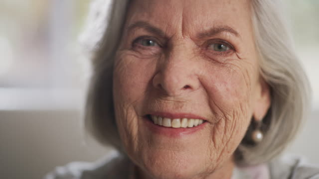 her smile will forever be contagious - senior women stock videos & royalty-free footage