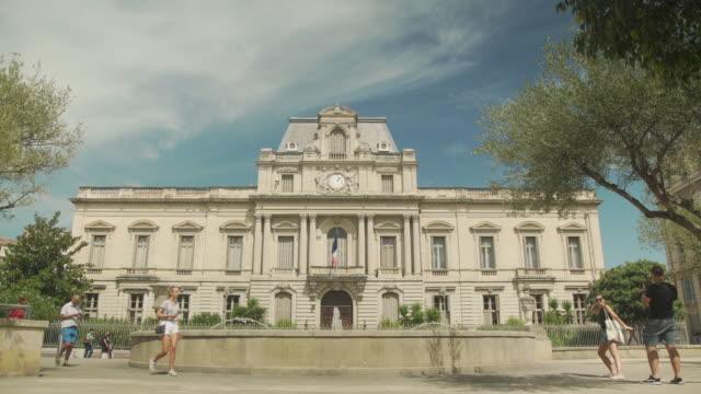 vidéos et rushes de herault government prefecture building at montpellier, france - politics and government