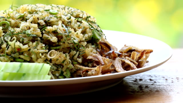 herb rice - rice stock videos & royalty-free footage