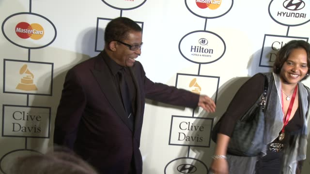 herbie hancock at 2014 grammy salute to industry icons honoring lucian grainge in los angeles, ca 1/25/14 - herbie hancock stock-videos und b-roll-filmmaterial