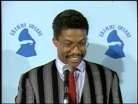herbie hancock at the 1987 grammy awards at the shrine auditorium in los angeles, california on february 24, 1987. - herbie hancock stock videos & royalty-free footage