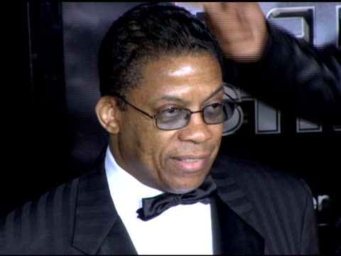 herbie hancock at the bet 25 strong silver anniversary special arrivals at the shrine auditorium in los angeles, california on october 26, 2005. - herbie hancock stock videos & royalty-free footage