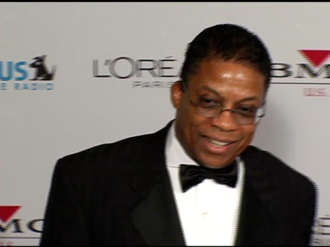 herbie hancock at the clive davis' 2005 pre-grammy awards party arrivals at the beverly hilton in beverly hills, california on february 12, 2005. - herbie hancock stock-videos und b-roll-filmmaterial