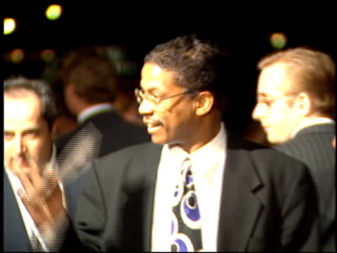 herbie hancock at the 'don juan demarco' premiere at academy theater in beverly hills, california on april 3, 1995. - herbie hancock stock-videos und b-roll-filmmaterial