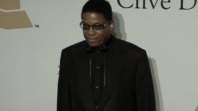 herbie hancock at the the recording academy & clive davis present the 2010 pre-grammy gala at beverly hills ca. - herbie hancock stock videos & royalty-free footage