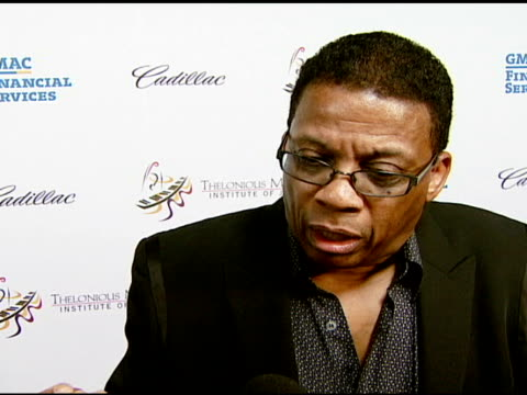 herbie hancock on being overwhelmed with this tribute, on being considered an icon, on the musicians performing, and on the competition encouraging... - herbie hancock stock videos & royalty-free footage