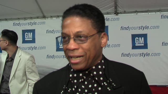 herbie hancock on his wide picking out his clothes, his new album, and working with legendary musicians at the gm ten event in los angeles,... - herbie hancock stock videos & royalty-free footage