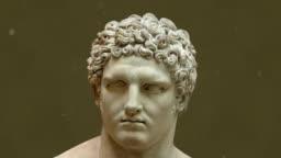 Hercules Head and Face Sculpture