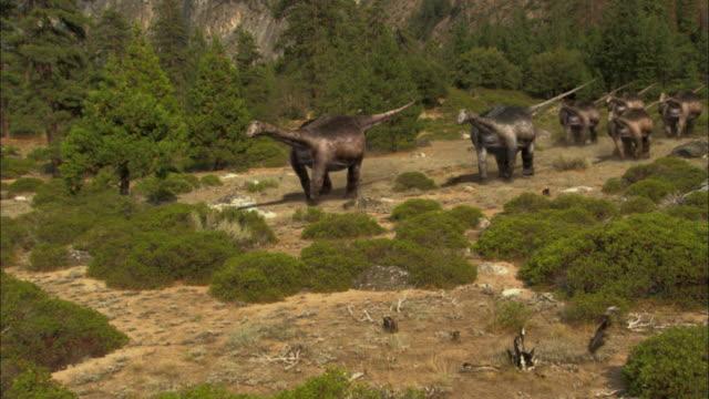 CGI, MS, Herd of Brontosauruses