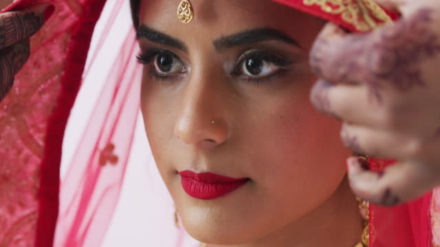 here comes the bride - indian ethnicity stock videos & royalty-free footage