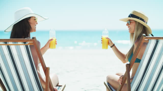 here's to a sizzling hot summer - outdoor chair stock videos & royalty-free footage