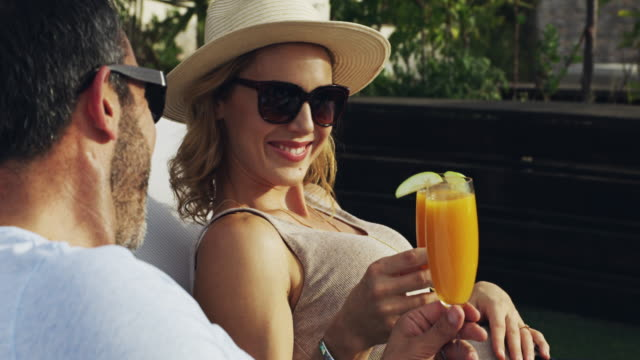 here's to the good life - orange juice stock videos & royalty-free footage