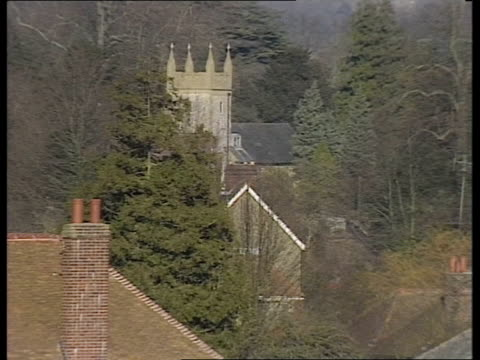 heritage lobby campaign to save monkton hall england gavin stamp interview sof west dean estate ext ms sign west dean college tms church pull out... - keep out sign stock videos & royalty-free footage