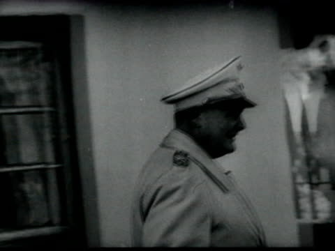 herman goering inspecting ukrainian village during operation barbarossa - wehrmacht stock videos & royalty-free footage