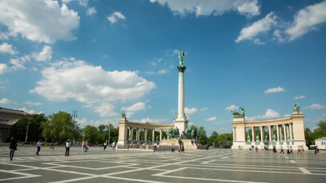 Heroes's Square - Budapest - Hungary