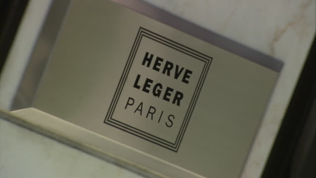herve leger shop sign on rodeo drive / beverly hills, california, united states - glamour stock videos and b-roll footage