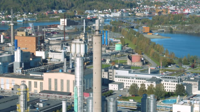 herøya industrial park - telemark stock videos and b-roll footage