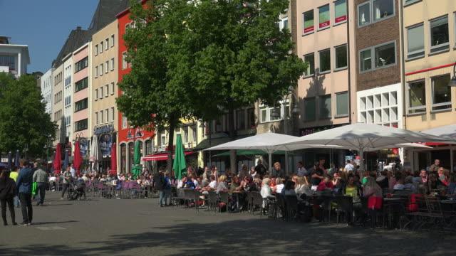 Heumarkt Square, Cologne, North Rhine Westphalia, Germany