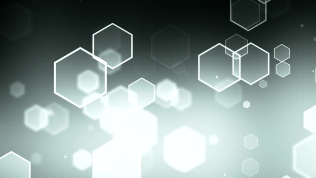 Hexagon Gray Background Loopable