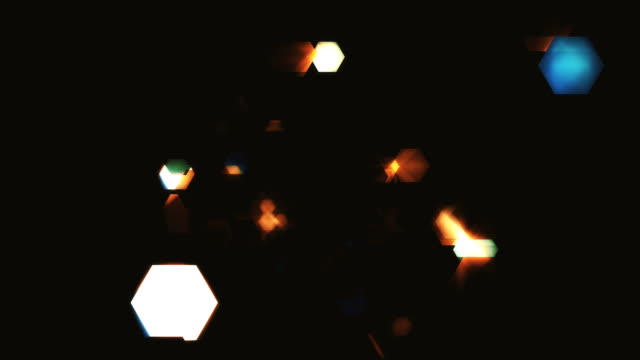 hexagon of dark particles loopable - fairy stock videos & royalty-free footage