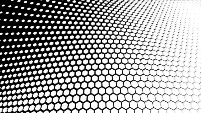 4k hexagon transition masks. abstract motion graphics and animated background. high-tech 3d animation - change stock videos & royalty-free footage