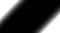 Hexagonal pattern transitions mask set