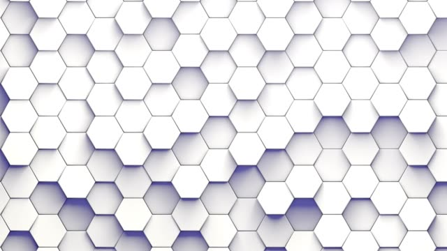 hexagonal patterns randomly moving - tiled floor stock videos & royalty-free footage