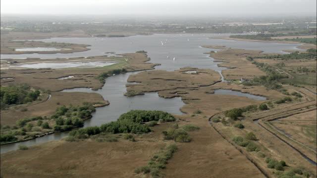 Hickling Broad  - Aerial View - England, Norfolk, United Kingdom