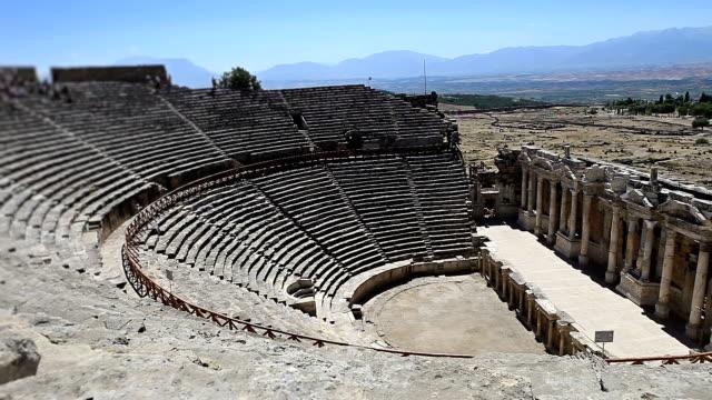 HD: Hierapolis theater, Pamukkale, Denizli/TURKEY