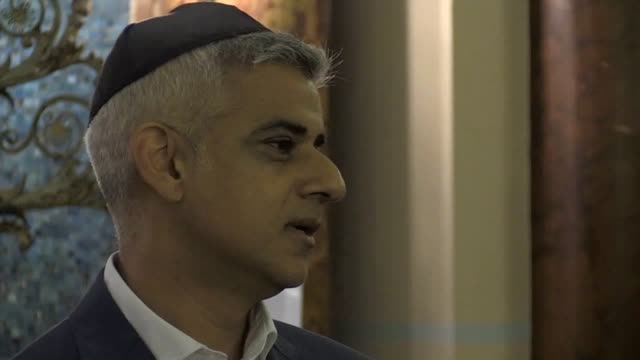 """hierarchy of racism"""" appears to exist within the labour party, london mayor sadiq khan has claimed. mr khan attacked the party's handling of... - 反ユダヤ主義点の映像素材/bロール"""
