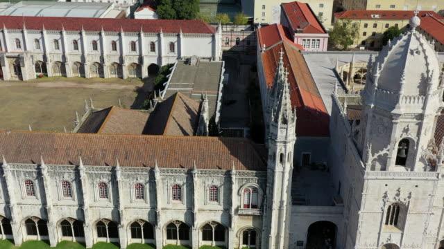 hieronymites monastery (mosteiro dos jeronimos) / lisbon, portugal - mosteiro dos jeronimos stock videos and b-roll footage