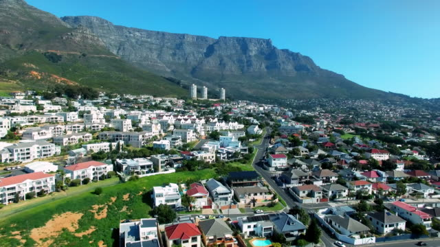 High above Cape Town