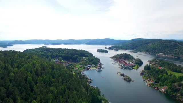 high above the fjords - telemark stock videos and b-roll footage